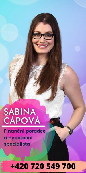 Sabina Čápová banner